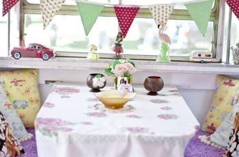 Pop Up Camper Dining Tables