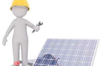 Pop up camper solar panels